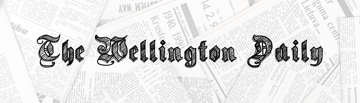 An example image of The Wellington Daily newspaper logo